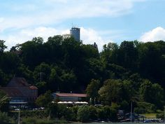 Otto-Moericke-Tower (Youth Hostel) in Constance, Germany Water Tower, Hostel, Willis Tower, Seattle Skyline, Germany, Youth, Building, Travel, Konstanz