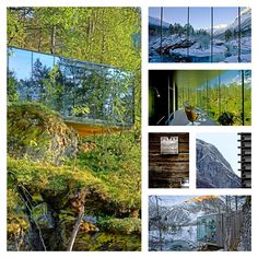 ADVENTURES IN STYLE - NORWAY The new cult film, Ex Machina was set here- you too can get a front row seat of nature in Norway where simply less is definitely more.  JUVET LANDSKAPSHOTELL ALSTAD//SUNNMØRE ALPS