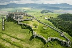 One of the biggest European castles which covers an area of 41,426 m2