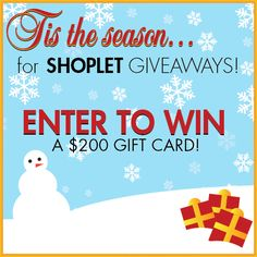 11.181 Holiday Fun! You Still Have a Chance to Win a $200 Gift Certificate to Shoplet