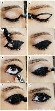 Black . Eyeliner . Wing Π°