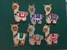 Alpacas, Marianne Design Cards, Animal Cards, Punch Art, Paper Cards, Making Ideas, Baby Animals, Safari, Embellishments