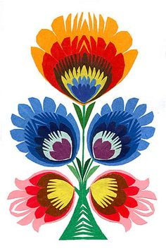 Polish folk design 6