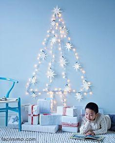 Blog de Decorar: E tudo vira árvore! Ideias incríveis e alternativas para a Sua Árvore de Natal.