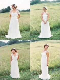 Mismatched Convertible Bridesmaid Dresses