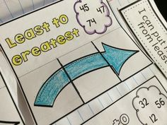 Interactive Math Journals { Place Value }  Using Interactive Notebooks for Place Value in First Grade.   Primary Possibilities