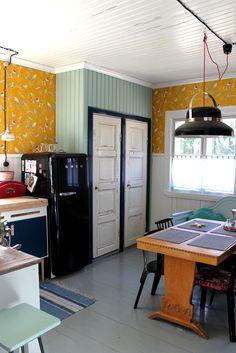 Riuttala Old School Interior Blogs, Old School, Scandinavian, Kitchen, Inspiration, Vintage, Home Decor, Biblical Inspiration, Cooking
