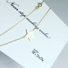 M's Firefly necklace