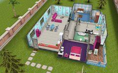 Sims Freeplay Housing: Brandi's Beach House