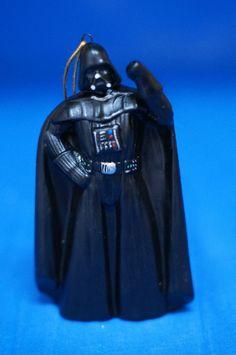 "Star Wars Darth Vader 4"" Ceramic Christmas Ornament Figurine Kurt Adler 2006 #KurtSAdler"