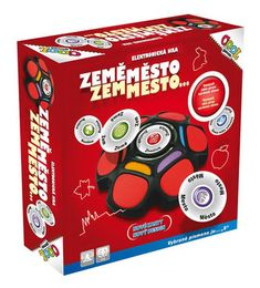 COOL GAMES Země, město,...! - Fun Games, Lunch Box, Cool Stuff, Cool Games, Bento Box