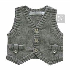 boy's vest with ribbing detail |  <br/>    Baby