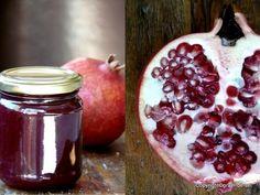 Birgit  kam gleich mit zwei guten Ideen raus: erstens eine Marmelade aus Granatapfel zu kochen und zum Zweiten, für die Saftgewinnung ...