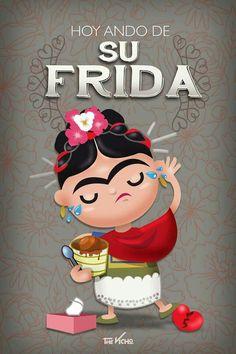 Maarryybbeell shared a photo from Flipboard Diego Rivera, Funny Spanish Memes, Spanish Humor, Spanish Quotes, Spanish Class, Funny Images, Funny Pictures, Fran Fine, Frida And Diego