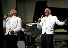 mcfadden brothers performing (they sing, tap, and play trumpet and sax)