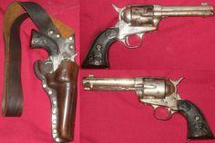 Colt .45 Revolver with Shoulder Holster c1888