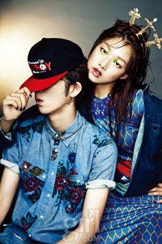 소년들에게 스케이트보드를 배우는 소녀, Vogue Girl 한국, 2012년 8월 (Sweet Crew, Vogue Girl Korea, August 2012)