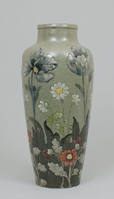 Vase with flowers  Albert Louis Dammouse