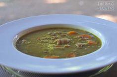 Lentejas con cúrcuma y verduras - http://www.thermorecetas.com/lentejas-curcuma-verduras/