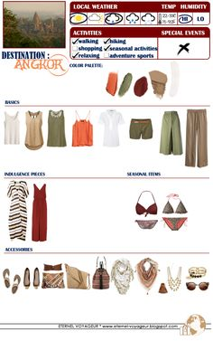 Eternel Voyageur: WHAT TO PACK Angkor