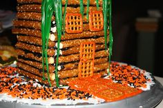 Haunted Witch House with Snyder's Pretzels & Cake Mate Decor {& a #Giveaway!}