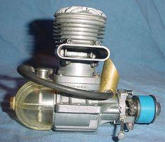 1939 Kratmo 10A ignition model airplane engine 10cc .57