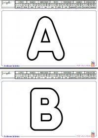 Capitales à décorer Un fichier avec les lettres capitales à décorer.