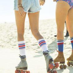 Summer time and roller skates!