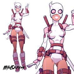 GwenPool - Mike Anderson