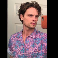 boy's haircut lady's shirt