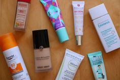 A round-up of some of my favourite primers, foundations and BB cream for summer