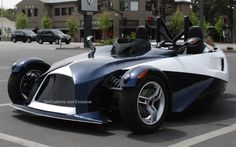 The Prong 3 trike was inspired by Volkswagen and its GX3 3-wheeler concept from back in 2006. Description from zercustoms.com. I searched for this on bing.com/images