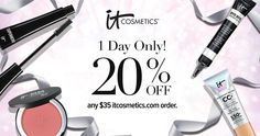20% OFF & 100% exciting! Shop online with the code ITSHINES35 and enjoy 20% OFF when you spend $35. (Restrictions apply; see site for details) #entry