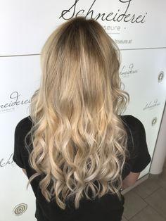 Blonde balayage Trends, Blonde Balayage, Long Hair Styles, Beauty, Barber Salon, Hair Stylists, Balayage Hairstyle, Dressmaking, Shaving
