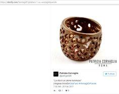 Uno scintillante buongiorno a tutti. Condividiamo con voi un altro bellissimo traguardo: un nostro Tweet è stato scelto da Storify per una presentazione dedicata alla Woolf ;) #patriziacorvagliagioielli #pattygioielli #glam #cool #fashion #artistic #roma #rome #handmadeinitaly #artandpoetry #creazione #gioielliunici #pezziunici #ringandbracelet #accessories #moda #extraordinary #jewelry #jewels #design #art #handmade #perfection #brigh #madeinitaly #smile #style