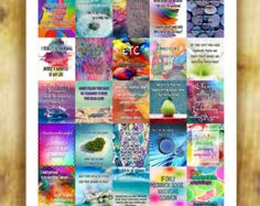 Inspirational Quotes Stickers Set 1 for Erin by RemanDesignStudio