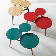 Clover Coffee Table – Bermuda/Pecan | West Elm --not sure what color I like best, but I like this.