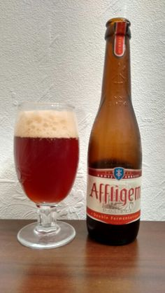 Affligem, Belgium Abbey Beer. Double fermented and 6.8%.