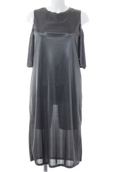 fc088370d77 ZARA TRAFALUC Midikleid graugrün Damen Gr. DE 36 Kleid Dress Midi Dress   fashion