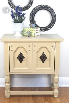 $4 Makeover with DIY Chalk Paint | Salvaged Inspirations