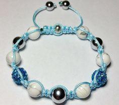 Blue Pave Bracelet. SKU#MAY2 Price US$45.00 http://www.vajewelstore.com/blue-pave-bracelet.--sku-may2-price-us-45.00.html