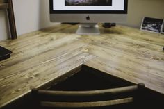 The Road...: Rustic Desk Project