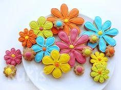 Funny Flower Cookies