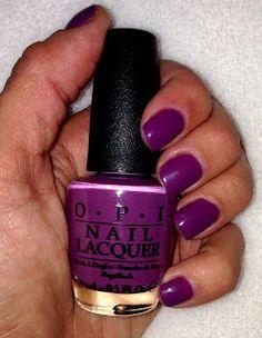 I'm feeling Sashy from OPI. Pretty purple for Fall...
