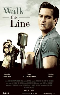 Walk the Line - 2005 Based on the early life and career of country music artist Johnny Cash. Joaquin Phoenix and Reese Witherspoon Johnny Cash, Johnny E June, Walk The Line Movie, See Movie, Movie Tv, Films Cinema, Cinema Posters, Movie Posters, Jerry Lee Lewis
