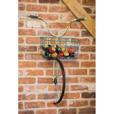 Evergreen Enterprises, Inc Front Basket Metal Bicycle and Planter Wall Decor – diy decoration Deco Originale, Creation Deco, Bike Art, Yard Art, Diy Home Decor, Decoration Crafts, Room Decorations, Decor Room, Diy And Crafts
