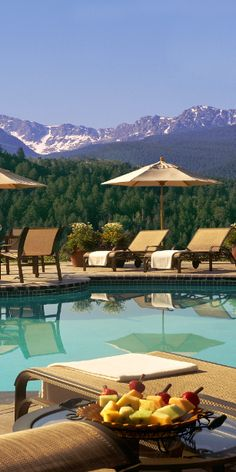 #Jetsetter Daily Moment of Zen: The Lodge & Spa at Cordillera in Edwards, #Colorado