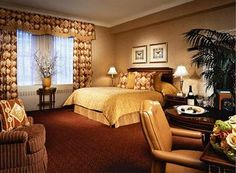 Waldorf Astoria Hotel New York Bedroom!  Only 8 weeks to go before staying in this hotel!