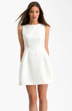 Alexia Admor Bateau Jacquard Fit & Flare Dress   Nordstrom