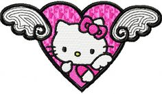 Hello Kitty Angel Wings patch...